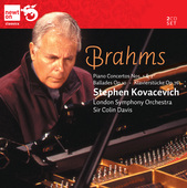 Album artwork for Brahms: Piano Concertos 1 & 2 / Kovacevich