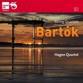 Album artwork for Bartok: Complete String Quartets / Hagen Quartet