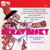 Album artwork for Stravinsky: Famous Ballets / Dutoit, Montreal