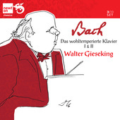 Album artwork for Bach: Well Tempered Clavier 1 & 2 / Gieseking