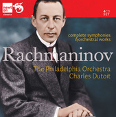 Album artwork for Rachmaninov: Complete Symphonies and Orchestral wo