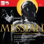Album artwork for Handel: Messiah / Sutherland, Bumbry, Boult