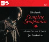 Album artwork for Tchaikovsky: Complete Symphonies - Markevitch