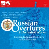 Album artwork for Russian Overtures and Orchestral Works - Pletnev