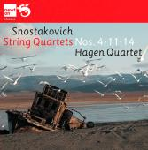 Album artwork for Shostakovich: String Quartets Nos. 4, 11, 14 / Hag