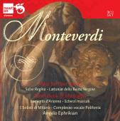 Album artwork for Monteverdi: Mass for 4 Voices, Madrigals book 9