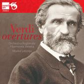 Album artwork for Verdi: Overtures / Letonja