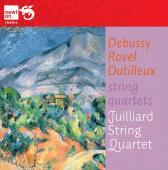 Album artwork for Debussy, Ravel, Dutilleux: String Quartets / Juill