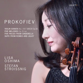 Album artwork for Prokofiev: Violin Sonata No. 1, 5 Mélodies & Sele