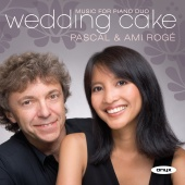 Album artwork for Wedding Cake: Music for Piano Duo / Roge