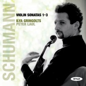 Album artwork for Schumann: Violin Sonatas 1-3 - Gringolts