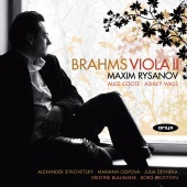 Album artwork for Brahms: Viola II / Maxim Rysanov