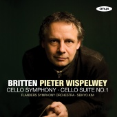 Album artwork for Britten: Cello Symphony and Suite / Wispelwey