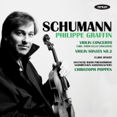 Album artwork for Schumann: Violin Concerto & Sonata / Graffin