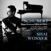 Album artwork for Schubert: Piano Sonatas D840, 850 / Wosner
