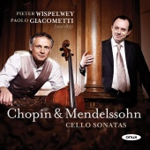 Album artwork for Chopin, Mendelssohn: Cello Sonatas / Wispelwey