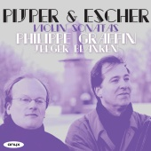 Album artwork for Pijper & Escher: Violin Sonatas
