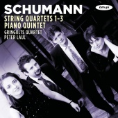 Album artwork for Schumann: String Quartets 1-3