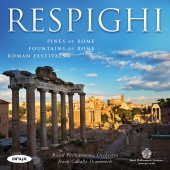Album artwork for Respighi: Roman Trilogy