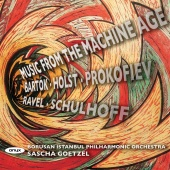 Album artwork for Music From The Machine Age, Bartok, Holst etc.