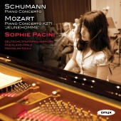 Album artwork for Schumann & Mozart: Piano Concertos