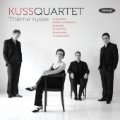 Album artwork for Kuss Quartet - Thème russe