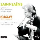 Album artwork for Saint-Saëns: Cello Concerto 1, Symphony 1