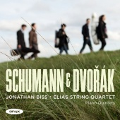 Album artwork for Dvorak, Schumann: Piano Quintets / Bliss, Elias Qt