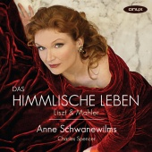 Album artwork for Anne Schwanewilms: Liszt & Mahler Songs