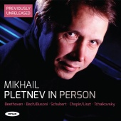 Album artwork for MikhailPletnev: In Person