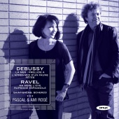 Album artwork for Debussy, Ravel: Works for two pians / Roge, Roge