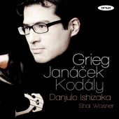 Album artwork for JANACEK. Prohadka, Presto. Ishizaka/Wosner