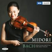 Album artwork for Bach: Sontatas & Partitas / Midori