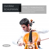 Album artwork for DVORAK. SCHUMANN. Cello Concertos. Ferrandez/Stutt