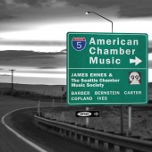 Album artwork for American Chamber Music. Ehnes/Seattle Chamber Musi