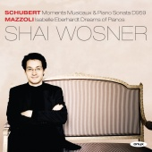Album artwork for SCHUBERT. Moments Musicaux, Piano Sonata in A. Wos