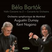 Album artwork for Bartok: Violin Concerto #2 / Dumay, Nagano