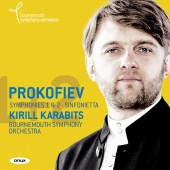 Album artwork for PROKOFIEV. Symphonies Vol.2, Nos.1 & 2. Bournemout