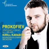 Album artwork for Prokofiev: Symphonies 4 & 5 / Karabits