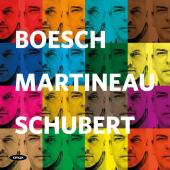 Album artwork for Schubert: Lieder / Boesch, Martineau