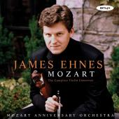 Album artwork for Mozart: Violin Concertos 1-5 / James Ehnes