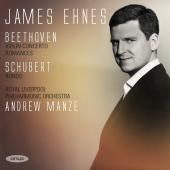 Album artwork for Beethoven: Violin Concerto / Ehnes
