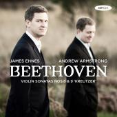 Album artwork for Beethoven: Violin Sonatas #6 & 9 / Ehnes, Armstron