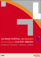Album artwork for LUCERNE FESTIVAL ORCHESTRA - THE FIRST 5 YEARS