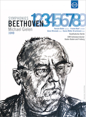 Album artwork for Beethoven: SYMPHONIES 1-9 - Gielen