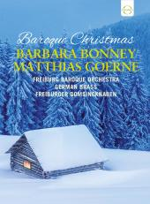 Album artwork for Baroque Christmas / Bonney, Goerne, German Brass