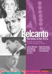 Album artwork for Bel Canto: The Tenors of the 78 Era