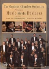 Album artwork for ORPHEUS CHAMBER ORCHESTRA - MUSIC MEETS BUSINESS