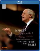 Album artwork for Mahler: Symphony No. 2 / Boulez