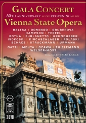 Album artwork for GALA CONCERT FROM THE VIENNA STATE OPERA